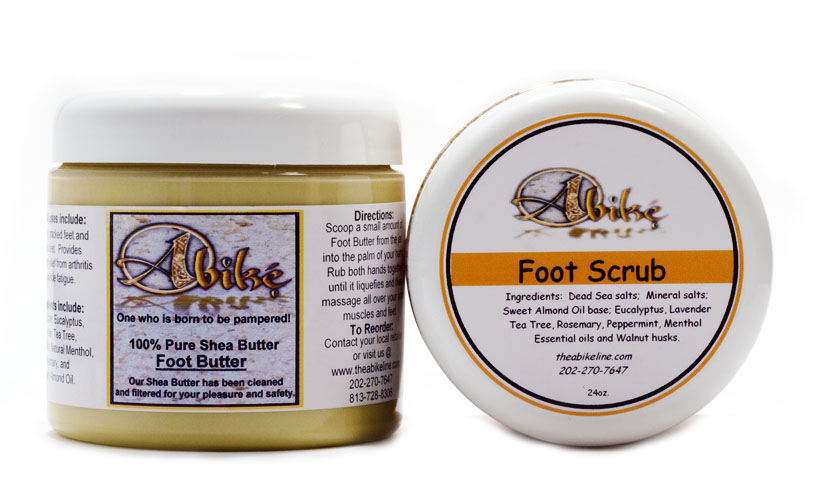1 Pound Foot Butter - Click Image to Close
