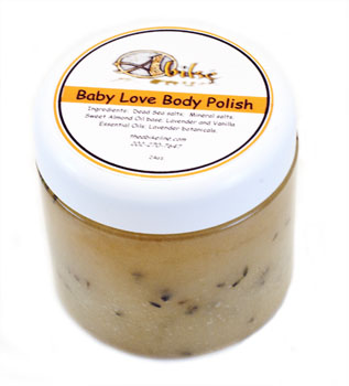 24 oz Baby Love Body Polish - Click Image to Close